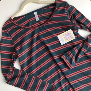 Striped Lularoe Lynnae